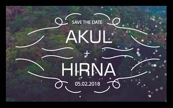 Akul – Hirna Pre wedding